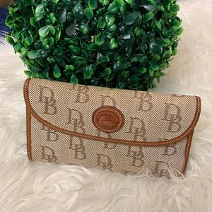 {Dooney & Bourke} Signature Monogram Large Wallet